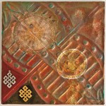 Celtic Cog artwork by Diane Hause