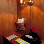 Sin Shredder Confession Booth - Wood with Electric Paper Shredder