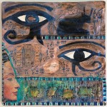 Egypt's Eyes artwork by Diane Hause