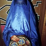 "Burqa with Drum - 14"" x 16"" Photo"