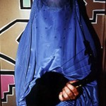 "Burqa with Instrument - 14"" x 16"" Photo"