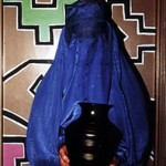 "Burqa with Vessel- 14"" x 16"" Photo"