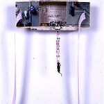 "Symbolic Birth Defect - 7"" x 10"" Assemblage"