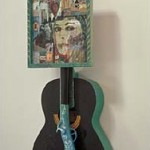 "War Songs - 36"" x 14"" x 5"" Assemblage"