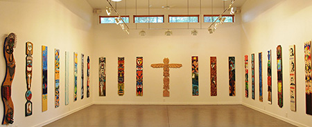 Living Totems Group Exhibit