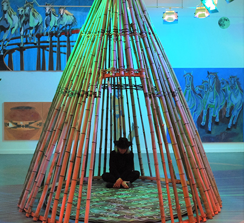 """Haustudio """"Within the Resilient Bamboo"""" Opening"""